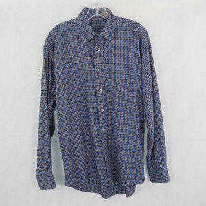 Burberry Men's Button Down Long Sleeve Shirt sz M